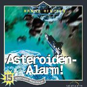 Cover-Bild zu Asteroiden-Alarm (Weltraum-Abenteuer 15) (Audio Download) von Herzler, Hanno