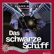 Cover-Bild zu Das schwarze Schiff (Weltraum-Abenteuer 18) (Audio Download) von Herzler, Hanno