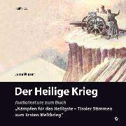 Cover-Bild zu Der Heilige Krieg (Audio Download) von Wieser, Jutta