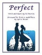 Cover-Bild zu Perfect: Arranged for Lever or Pedal Harp von Ed Sheeran (Gespielt)