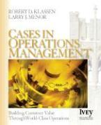 Cover-Bild zu Cases in Operations Management von Klassen, Robert D.