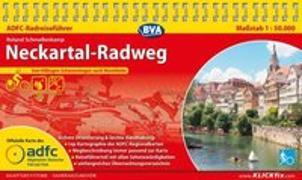 Cover-Bild zu ADFC-Radreiseführer Neckartal-Radweg 1:50.000 praktische Spiralbindung, reiß- und wetterfest, GPS-Tracks Download. 1:50'000 von Schmellenkamp, Roland