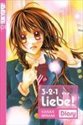 Cover-Bild zu 3, 2, 1 ... Liebe! Diary von Minami, Kanan