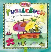 Cover-Bild zu Janosch Puzzlebuch - Tiger und Bär machen einen Ausflug von Steinfeld, Lena
