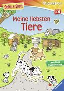 Cover-Bild zu Meine liebsten Tiere von Greenwell, Jessica