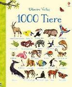 Cover-Bild zu 1000 Tiere von Dyson, Nikki (Illustr.)