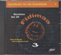 Cover-Bild zu Fidimaa - Rechnen bis 20 / CD von Maurer-Früh, Sarah
