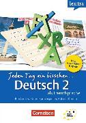 Cover-Bild zu Jeden Tag ein bisschen Deutsch 2. von Heinrich, Eva
