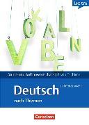 Cover-Bild zu Grund- und Aufbauwortschatz: Deutsch als Fremdsprache nach Themen A1-B2. Lernwörterbuch von Tschirner, Erwin