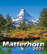 Cover-Bild zu Cal. Matterhorn 2021 Ft. 21x24