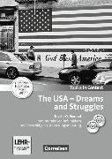 Cover-Bild zu Topics in Context. The USA Dreams and Struggles. Teacher's Manual von Becker-Ross, Ingrid