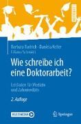 Cover-Bild zu Wie schreibe ich eine Doktorarbeit? (eBook) von Budrich, Barbara