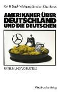 Cover-Bild zu Amerikaner über Deutschland und die Deutschen von Jonas, Klaus