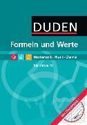Cover-Bild zu Formeln und Werte bis 10. Schuljahr. Mathematik, Physik, Chemie von Engelmann, Lutz
