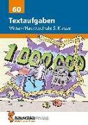 Cover-Bild zu Textaufgaben Mittel-/Hauptschule 5. Klasse von Kopetz, Susanne