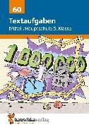 Cover-Bild zu Textaufgaben Mittel-/Hauptschule 5. Klasse (eBook) von Wilms, Sonja