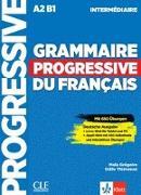 Cover-Bild zu Grammaire progressive du français - intermédiaire. Schülerbuch + Audio-CD + Online