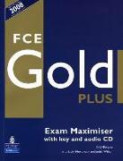Cover-Bild zu FCE Gold Plus FCE Gold Plus Maximiser with key and Audio CD - FCE Gold Plus von Burgess, Sally