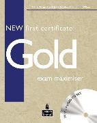 Cover-Bild zu First Certificate Gold - NEW! New First Certificate Gold Exam Maximiser (No Key) and Audio Pack CD - New First Certificate Gold von Burgess, Sally