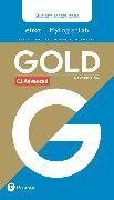 Cover-Bild zu New Gold Advanced NE 2019 Students' eText & MEL Access Card