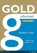 Cover-Bild zu New Gold Advanced 2015 Teacher's e-Text von Thomas, Amanda