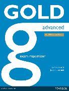Cover-Bild zu New Gold Advanced 2015 Exam Maximiser w/ online audio (no key) von Edwards, Lynda