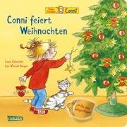 Cover-Bild zu Conni-Bilderbücher: Conni feiert Weihnachten (Pappenbuch mit Klappen) von Schneider, Liane