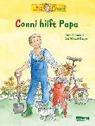 Cover-Bild zu Conni-Bilderbücher: Conni hilft Papa von Schneider, Liane