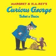 Cover-Bild zu Curious George Takes a Train (eBook) von Rey, Margret