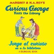 Cover-Bild zu Jorge el curioso va a la biblioteca/Curious George Visits the Library (Read-aloud) (eBook) von Rey, H. A.