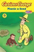 Cover-Bild zu Curious George Plants a Seed (CGTV Read-aloud) (eBook) von Rey, H. A.