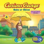Cover-Bild zu Curious George Rain or Shine (CGTV Read-aloud) (eBook) von Rey, H. A.