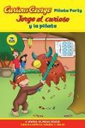 Cover-Bild zu Jorge el curioso y la pinata / Curious George Pinata Party Bilingual Edition (CGTV Reader) (eBook) von Rey, H. A.