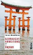 Cover-Bild zu Gebrauchsanweisung für Japan von Neuenkirchen, Andreas