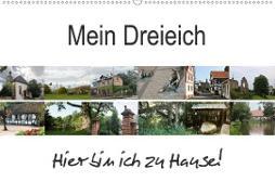 Cover-Bild zu Mein Dreieich (Wandkalender 2021 DIN A2 quer) von Ola Feix, Eva