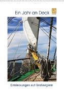 Cover-Bild zu Ein Jahr auf Deck - Entdeckungen auf Großseglern (Wandkalender 2021 DIN A2 hoch) von Ola Feix, Eva