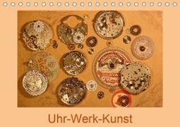 Cover-Bild zu Uhr-Werk-Kunst (Tischkalender 2021 DIN A5 quer) von Ola Feix, Eva