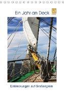 Cover-Bild zu Ein Jahr auf Deck - Entdeckungen auf Großseglern (Tischkalender 2021 DIN A5 hoch) von Ola Feix, Eva