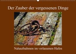 Cover-Bild zu Der Zauber der vergessenen Dinge (Wandkalender 2021 DIN A2 quer) von Ola Feix, Eva