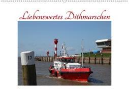Cover-Bild zu Liebenswertes Dithmarschen (Wandkalender 2021 DIN A2 quer) von Ola Feix, Eva