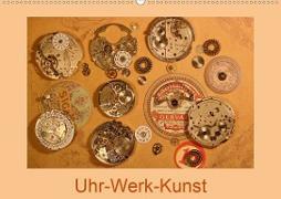 Cover-Bild zu Uhr-Werk-Kunst (Wandkalender 2021 DIN A2 quer) von Ola Feix, Eva