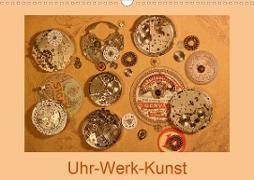 Cover-Bild zu Uhr-Werk-Kunst (Wandkalender 2021 DIN A3 quer) von Ola Feix, Eva