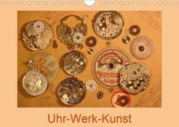 Cover-Bild zu Uhr-Werk-Kunst (Wandkalender 2021 DIN A4 quer) von Ola Feix, Eva