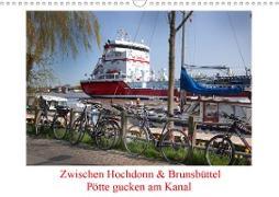 Cover-Bild zu Zwischen Hochdonn & Brunsbüttel: Pötte gucken am Kanal (Wandkalender 2021 DIN A3 quer) von Ola Feix, Eva