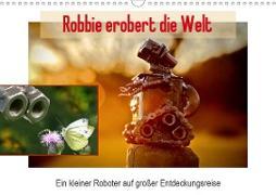 Cover-Bild zu Robbie erobert die Welt (Wandkalender 2021 DIN A3 quer) von Ola Feix, Eva