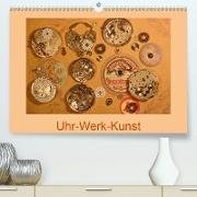 Cover-Bild zu Uhr-Werk-Kunst (Premium, hochwertiger DIN A2 Wandkalender 2021, Kunstdruck in Hochglanz) von Ola Feix, Eva