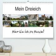 Cover-Bild zu Mein Dreieich (Premium, hochwertiger DIN A2 Wandkalender 2021, Kunstdruck in Hochglanz) von Ola Feix, Eva