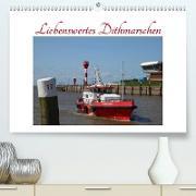 Cover-Bild zu Liebenswertes Dithmarschen (Premium, hochwertiger DIN A2 Wandkalender 2021, Kunstdruck in Hochglanz) von Ola Feix, Eva