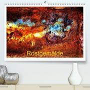 Cover-Bild zu Rostgemälde (Premium, hochwertiger DIN A2 Wandkalender 2021, Kunstdruck in Hochglanz) von Ola Feix, Eva