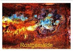 Cover-Bild zu Rostgemälde (Wandkalender 2021 DIN A2 quer) von Ola Feix, Eva
